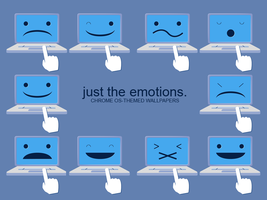 just the emotions. by Vazguard