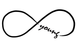 texto png infinito forever young. by rainofsparks