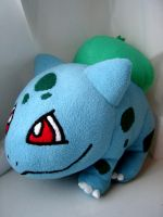 001. Bulbasaur Plush by Eightohsixtythird