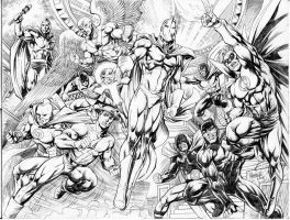 JSA commission by gammaknight