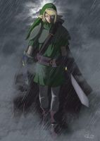 Study - Link, the Hero of Time by UndyingNephalim