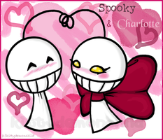 Spooky and Charlotte by kittydemonchild