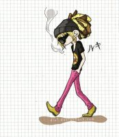 walking by myself by Dirl