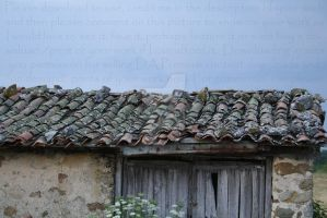 Old Roof by PzychoStock