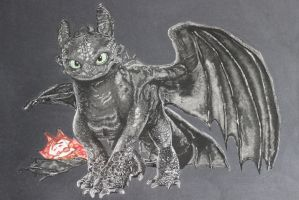 Toothless by naruto32