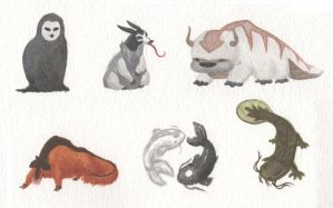 Avatar critters by Zenity