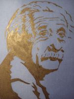 Einstein on a Pillow by SoniaSG