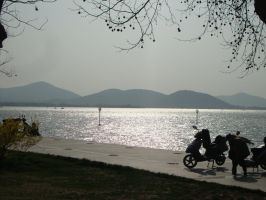 By the lake by Laura-in-china