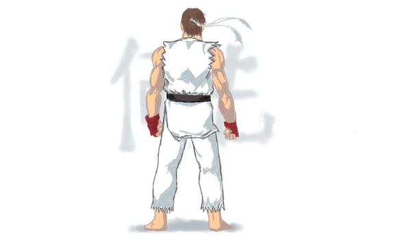 Colored Ryu by BlueLeoNeos