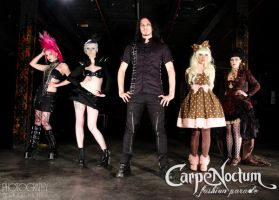 Carpe Noctum Promo Shoot by Giggle-Monster
