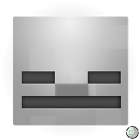 Minecraft - Skeleton Head Icon by CoopaD