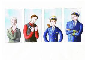 Cabin Pressure group photo by Hanni-Elfe
