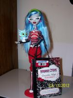 Ghoulia Yelps by Huntermoon