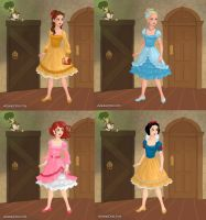 Princesses Alice Style by WaterLily-95