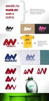 AWEB - corporate brand style by ult1mate