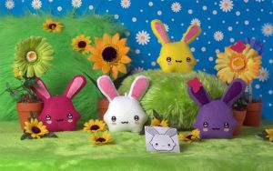Marshmallow bunny tribute by Berryland