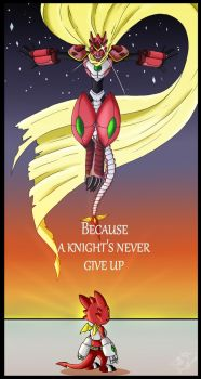 Never give up by TaleDemon