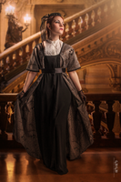 Edwardian dress 1912 by DanielleFioreModel