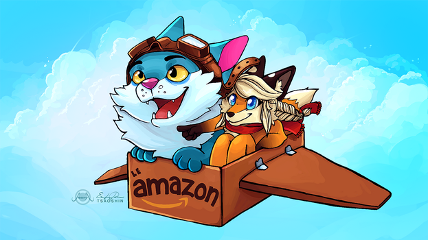 Le Amazon by TsaoShin