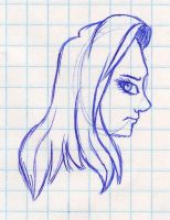 Side Face by mashaheart