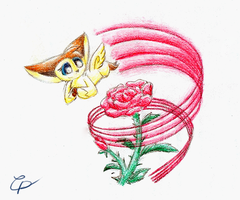 Floral Orchestra - Rhythm of the Rose by MysticFeather