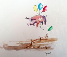 Pigs can fly by Obs3ss1On