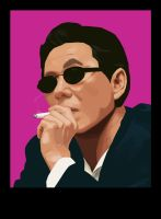 Takeshi Kitano by MrStitch