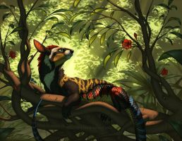 Basking in the Canopy by Shadow-Wolf