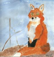 Fox Painting I by Simply-Dreams