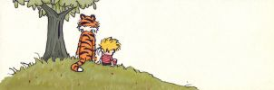 Calvin and Hobbes bookmark 2 by blindbandit5