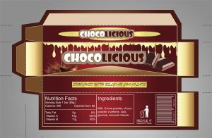 chocolate packaging design by copmystc