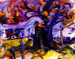 Tree of Spooks by LaurieLefebvre