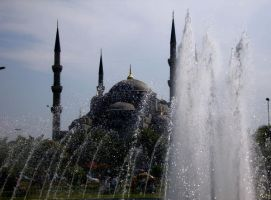 Blue Mosque 1 by zuzzaaa