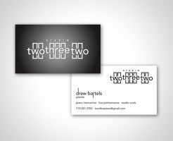 Studio TwoThreeTwo Biz Card by MarkRantal