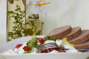 Vegetable salad with yogurt IV by SamanthaClara