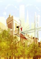 May your chimneys smoke for many many years to com by PascalCampion