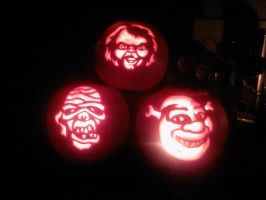 chucky, shrek and mummy by ccootttt