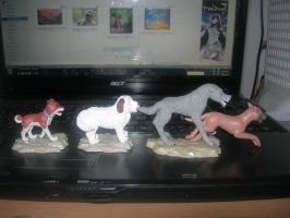 MY Four Ginga Figures by Kihomi-doglover