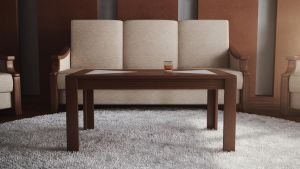 Table in the living room by RyanGlose
