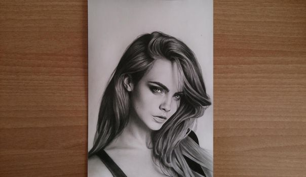Cara Delevingne by EdgeOfFred