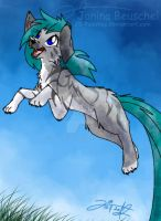 Jump into a new Day by JB-Pawstep