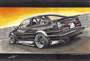 Dark Hachiroku by MGLola