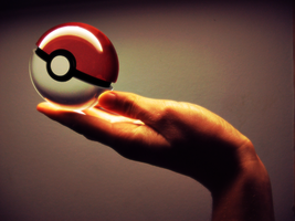 Red Pokeball by Marzarret