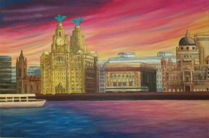 Liverpool sunset by TaraSF