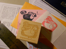 Our New Stamp is Here by Pluffers