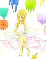 namine's home. by peachei
