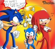 classic Sonic want join... by paurachan