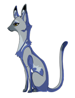 slender cat by meteorcrash
