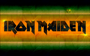 Iron Maiden - mechanic logo by croatian-crusader