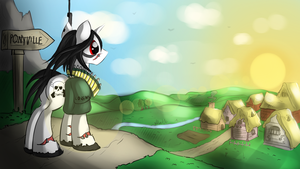 Back To Home by malamol